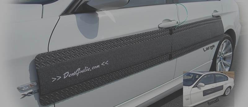 Door Ding Protector Car Door Guards Dentgoalie Faded Dent Goalie