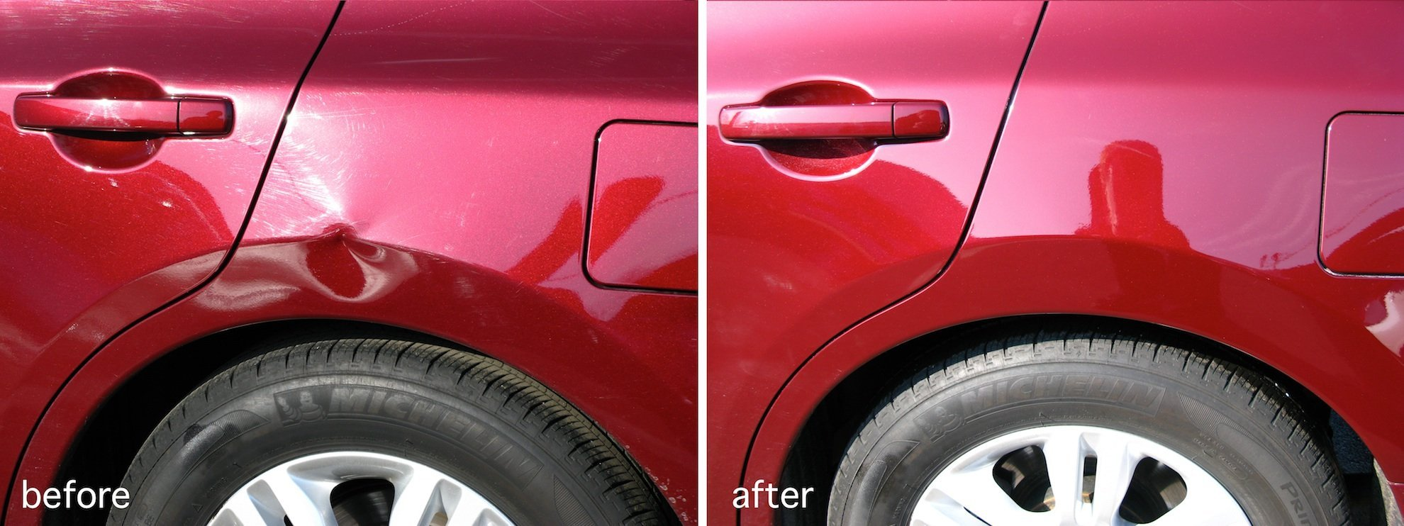 paintless dent repair: myths and facts about car dent insurance