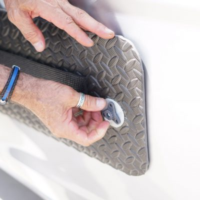 Suction cup panels that help with door dent protection, by DentGoalie